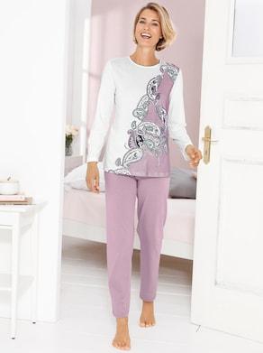 Cybele Schlafanzug - rosa-ecru