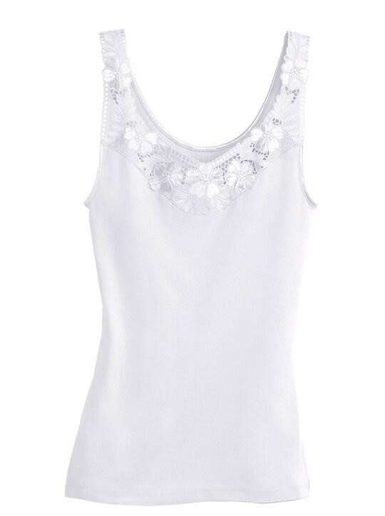 Thieme Achselhemd - 2 Stück weiß