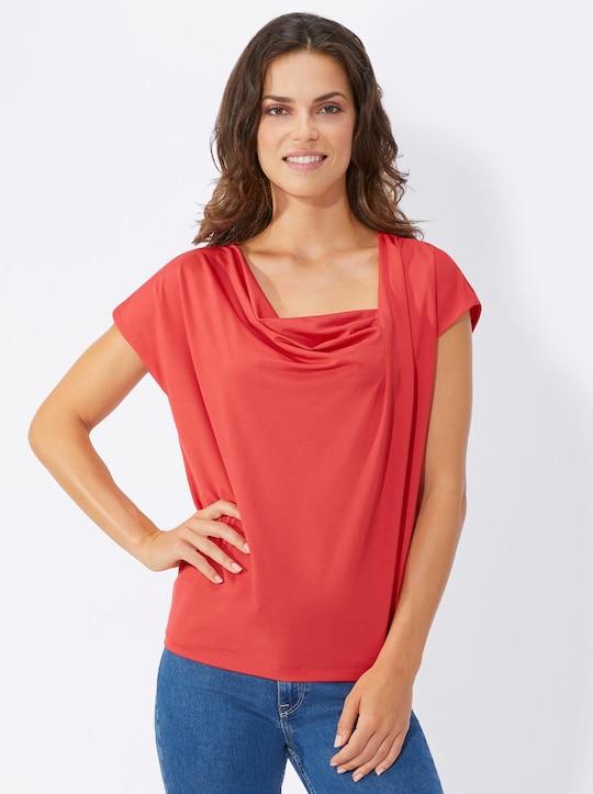 Fair Lady Shirt - korallenrot