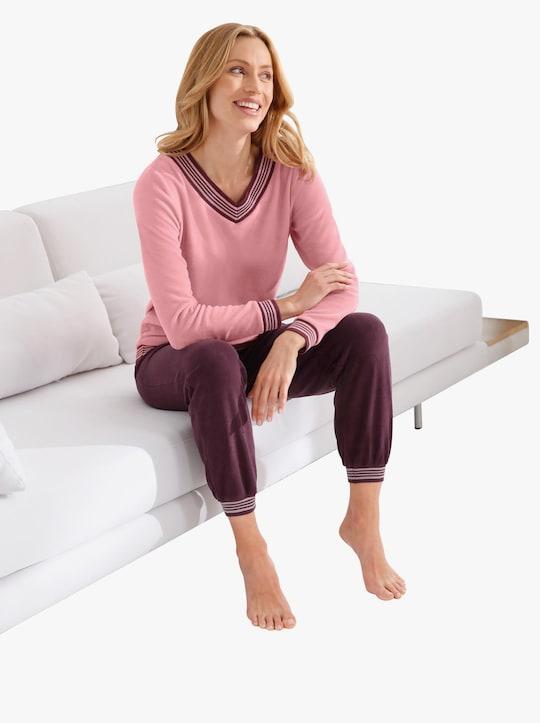 wäschepur Schlafanzug - burgund