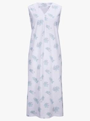 wäschepur Nachthemd - weiß-bedruckt