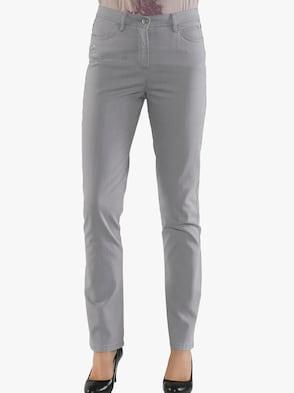 Jeans - silbergrau