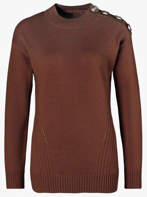 Pullover - roodbruin