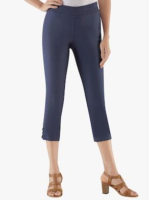 Kalhoty po lýtka - námořnická modrá