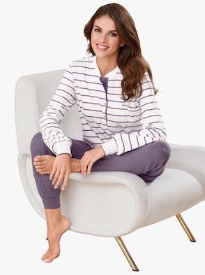 Pyjama - paars gestreept