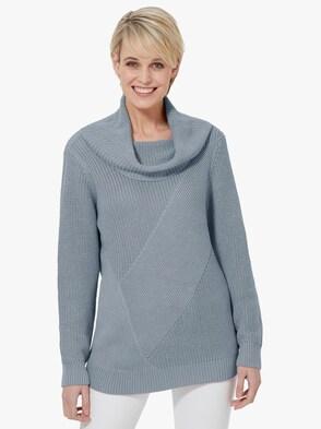 Pullover - ijsblauw