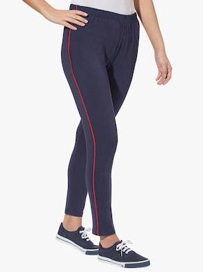 Leggings - nachtblau