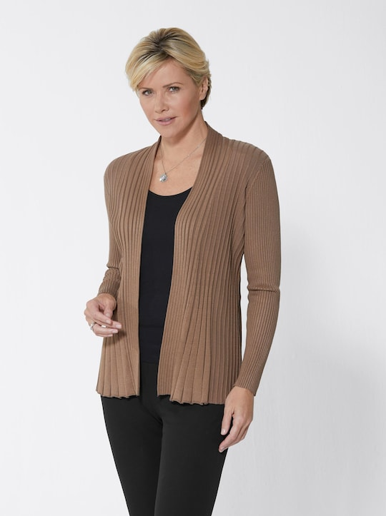 Fair Lady Strickjacke - taupe