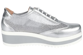 heine Sneaker - silberfarben