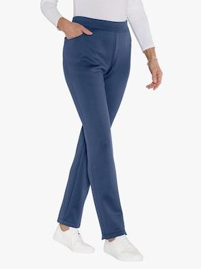 Thermo-Hose - jeansblau