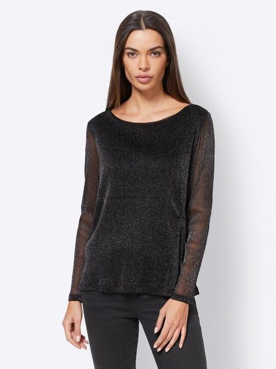 Patrizia Dini Shirt - zwart