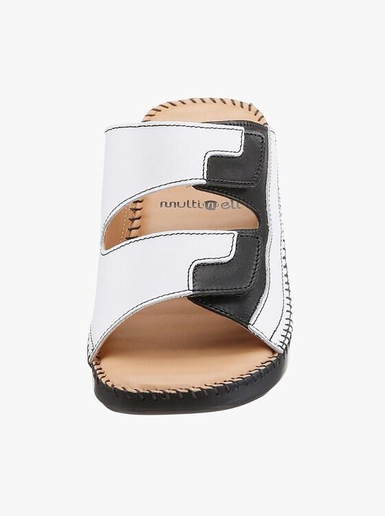 Gemini Pantolette - schwarz-weiß