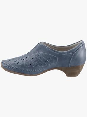pumps - jeansblauw