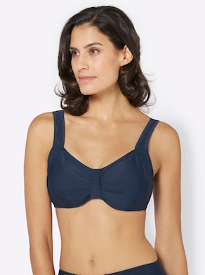 Bikini-Oberteil - marine