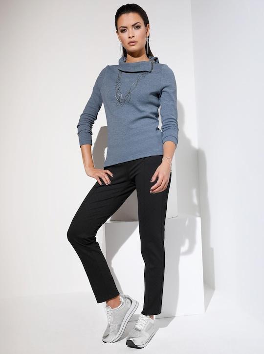 Shirt - blaugrau
