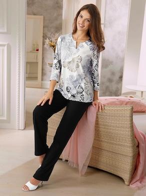 Ascafa Schlafanzug - champagner-schwarz