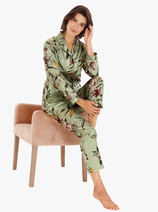 wäschepur Pyjama - lindgrün