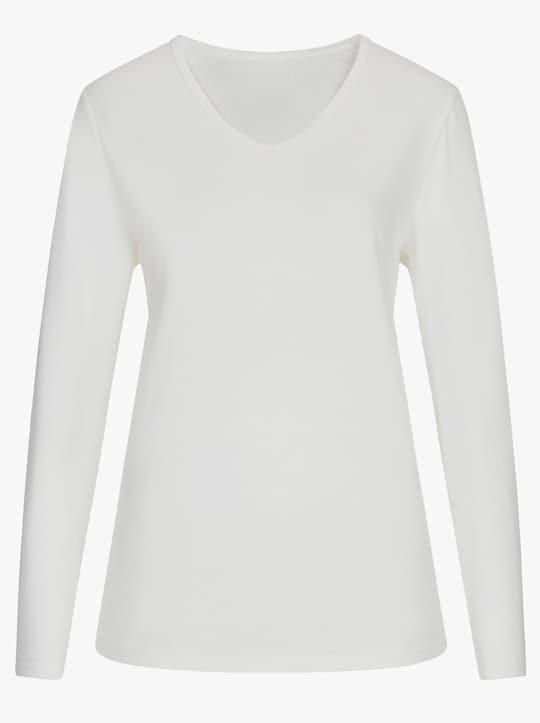 wäschepur Schlafanzug - weinrot-gestreift