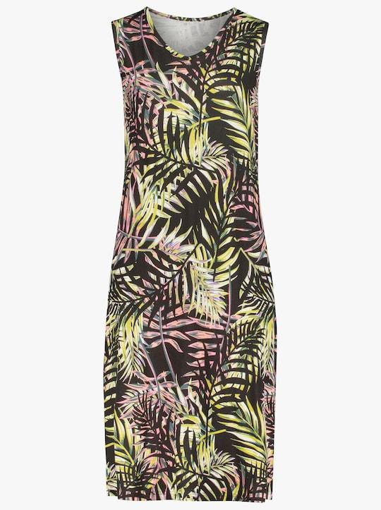 feel good Sommerkleid - schwarz-grün