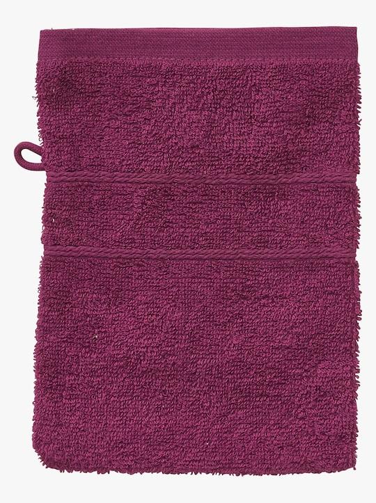 wäschepur 4-tlg. Handtuch-Sparset - malve