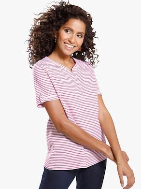 Shirt - rot-geringelt