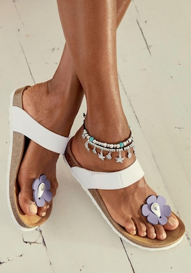 LASCANA slippers - wit
