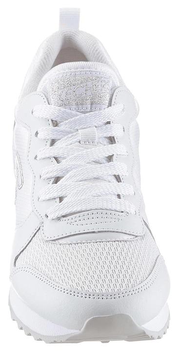 Skechers Sneaker - weiß-silberfarben
