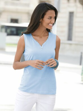Collection L Shirttop - bleu