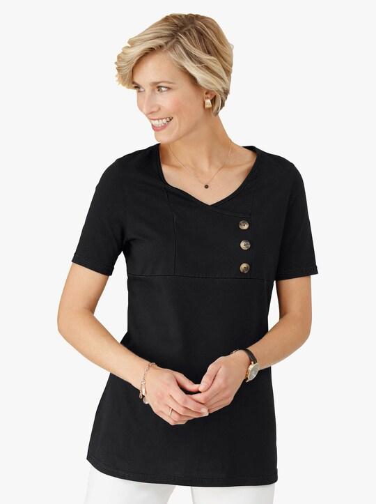 Shirttuniek - zwart