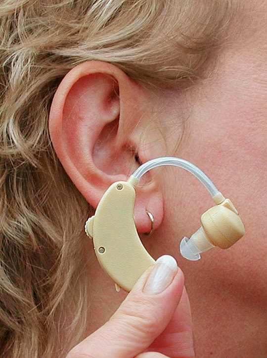 Geräuschverstärker - weiß