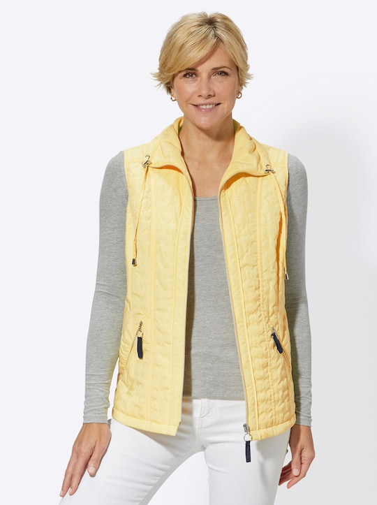 Collection L Weste - gelb