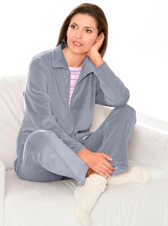 Comtessa Hausanzug - grau-meliert