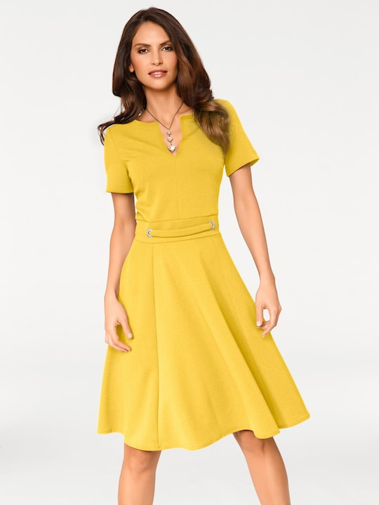 Ashley Brooke Prinsessenjurk - geel