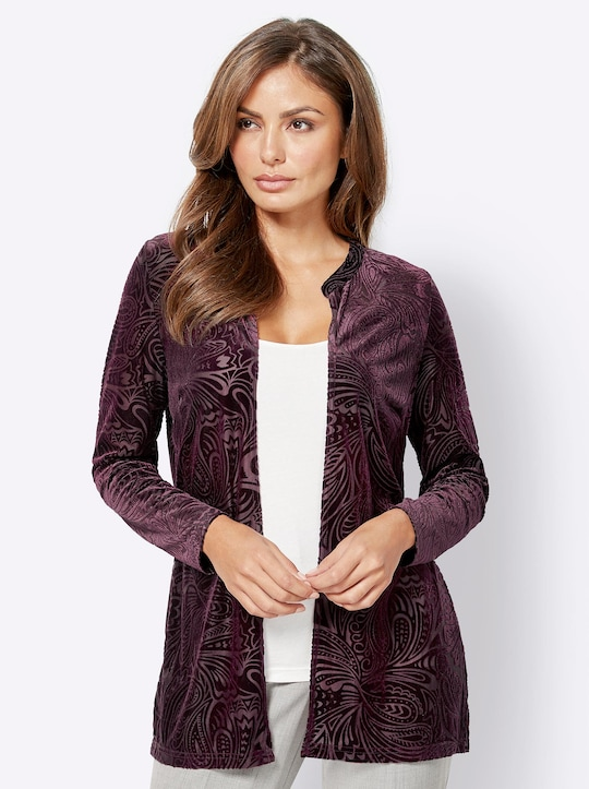 Fair Lady Shirtjacke - bordeaux