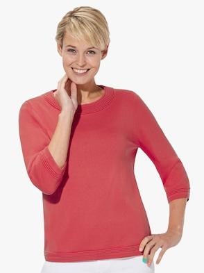 Pullover - erdbeerrot