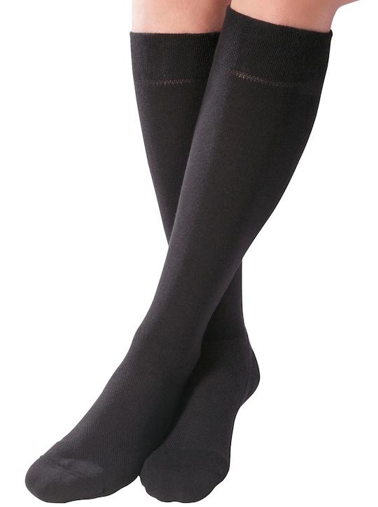 Kniestrümpfe - schwarz