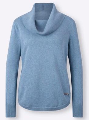 Collection L Pullover - bleu gemêleerd
