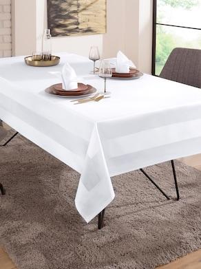 Curt Bauer Tischdecke - weiß