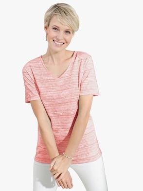 Tričko - korálově červená