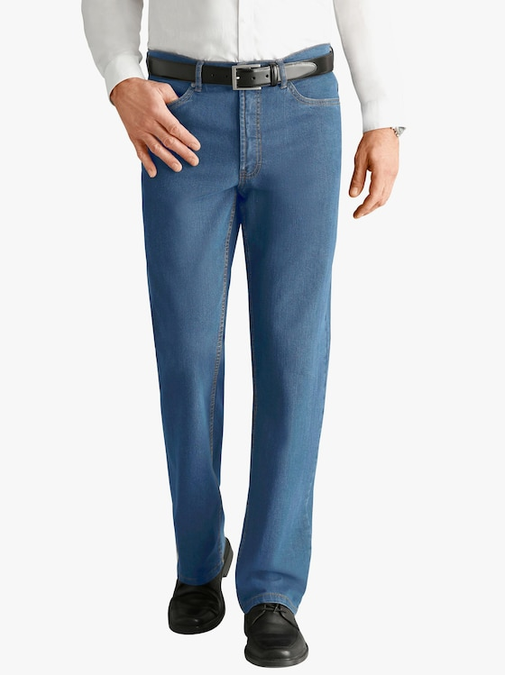 5-Pocket-Jeans - blue-bleached