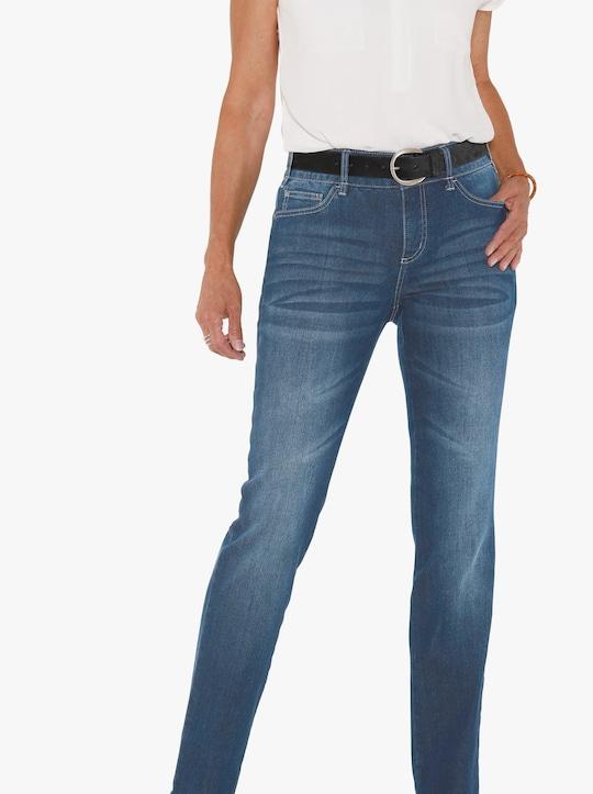 Džíny - sepraná modrá stone