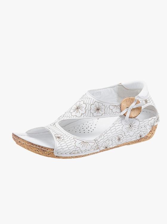 Gemini Sandalette - weiß