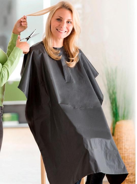 Friseur-Umhang - schwarz