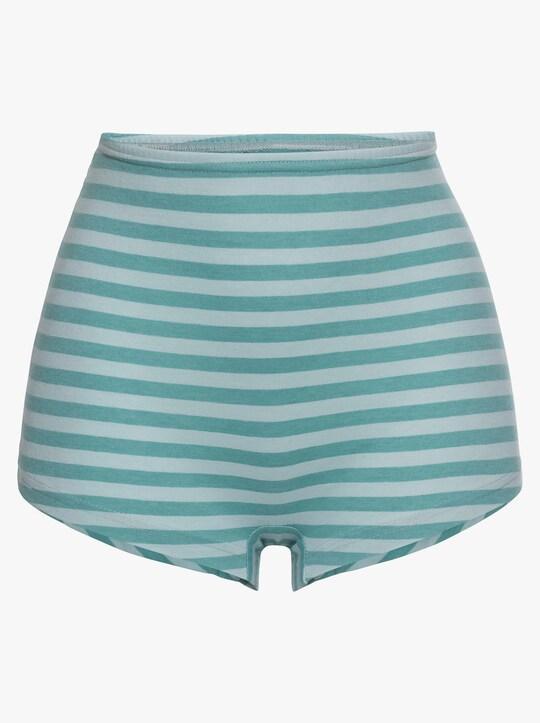 wäschepur Pants - mint-geringelt