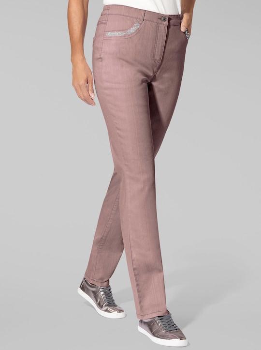 Collection L Jeans - mauve