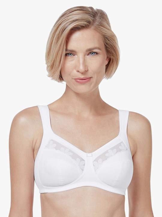 Anita Komfort-BH ohne Bügel - weiß
