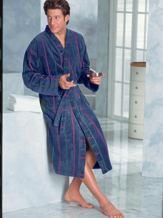 wewo fashion Bademantel - blau