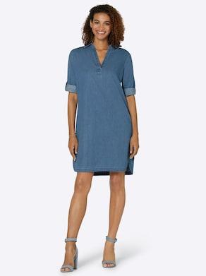 Collection L Jeans-Kleid - blue-bleached