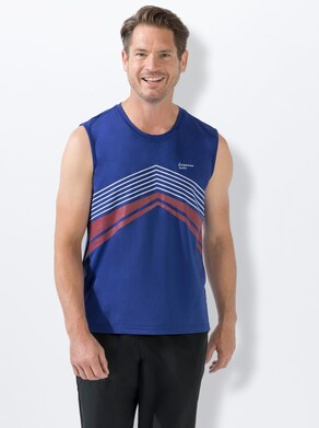 Catamaran Funktions-Shirt - blau