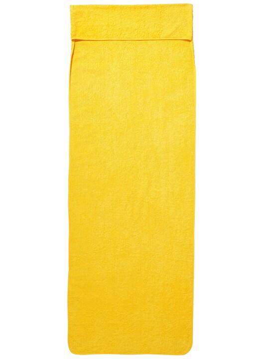 heine home Frottierbezug - gelb